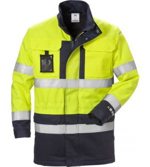 Flame high vis winter parka cl 3 4589 FLAM