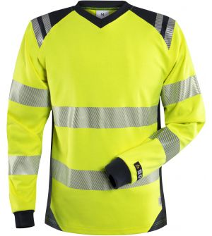 Flamestat high vis long sleeve T-shirt woman class 3 7357 TFL