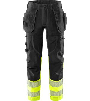 High vis craftsman stretch trousers class 1 2608 FASG