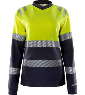 Flamestat high vis long sleeve t-shirt woman class 1 7108 TFL
