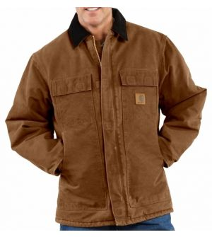 C26 CARHARTT SANDSTONE TRADITIONAL COAT