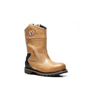 V1250 TOMAHAWK LEATHER WATERPROOF RIGGER BOOT